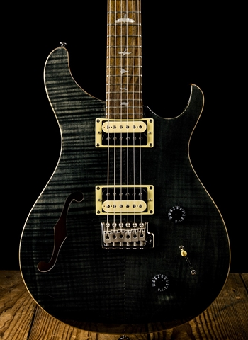 PRS SE Custom 22 Semi-Hollow - Gray Black