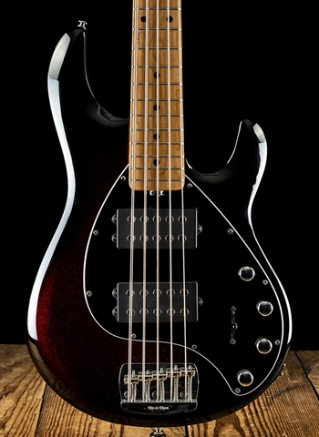 Music Man StingRay5 Special HH - Burnt Apple