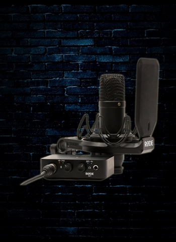 RODE NT1 Condenser Microphone and Ai-1 Interface Kit