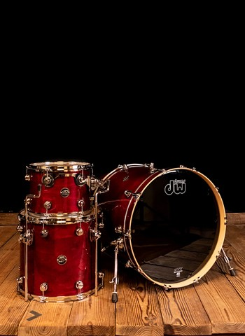 Drum Workshop Performance Series 4-Piece Drum Set - Cherry
