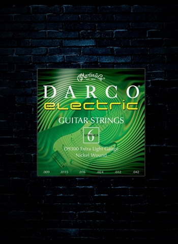 Darco D9300 Nickel Electric Strings - Extra Light (09-42)