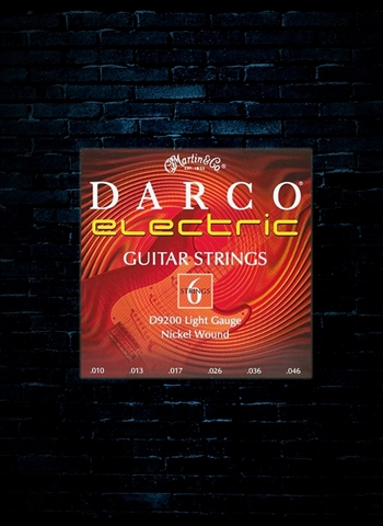 Darco D9200 Nickel Electric Strings - Light (10-46)