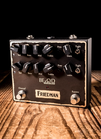 Friedman BE-OD Deluxe  - Dirty Shirley and BE Overdrive Pedal