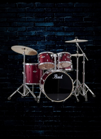 Pearl EXX725S/C Export EXX 5-Piece Drum Set - Burgundy
