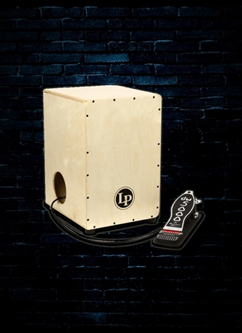 Latin Percussion LP1400NWP 2-Sided Cajon with DW Cajon Pedal