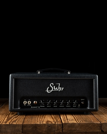 Suhr Badger 18 - 18 Watt Guitar Head - Black