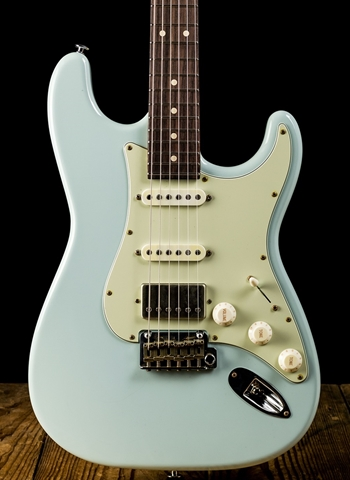Suhr Classic S Antique HSS Roasted - Sonic Blue
