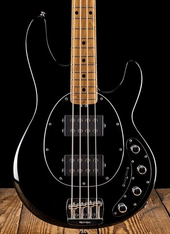 Music Man StingRay HH - Jet Black