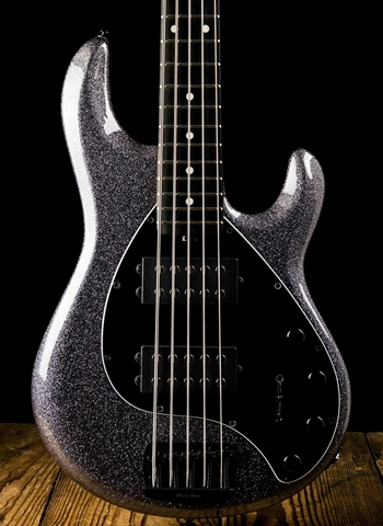 Music Man StingRay5 Special HH - Charcoal Sparkle