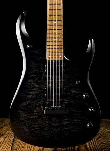 Music Man JP15 6 - Trans Black Burst