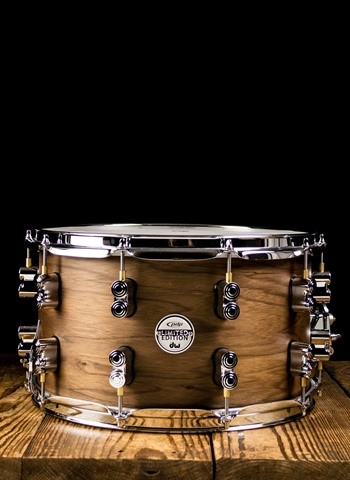 "Drum Workshop PDSN0814MWNS - 8""x14"" Limited Edition Maple/Walnut Snare Drum"