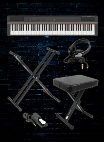 Yamaha P-125 Digital Piano Plus Pack