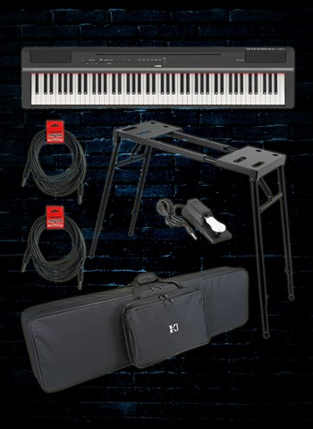 Yamaha P-125 Digital Piano Stage Pack