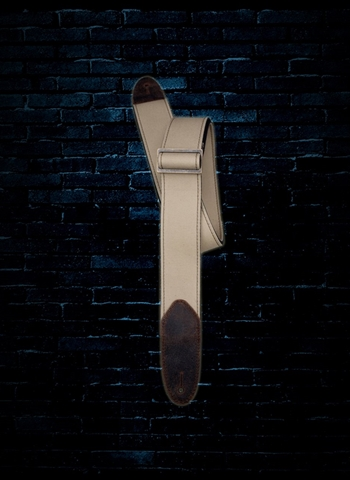 "LM Products D-1 - 2"" Simple Canvas Guitar Strap - Tan"