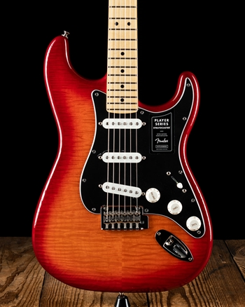 Fender Player Stratocaster Plus Top - Aged Cherry Burst