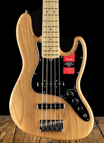 Fender American Professional Jazz Bass V - Natural
