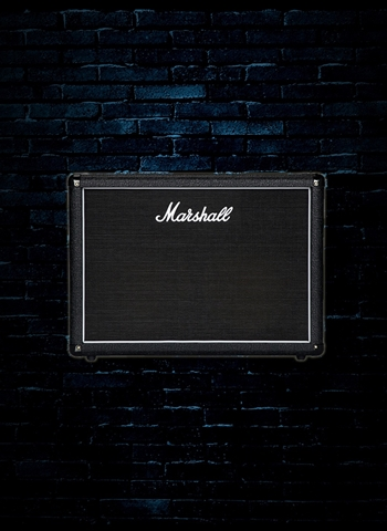 "Marshall MX212R -  160 Watt 2x12"" Guitar Cabinet - Black"