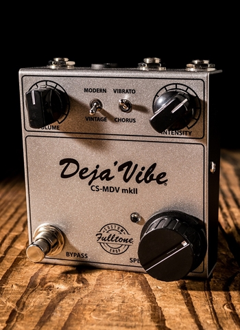 Fulltone CS-MDV mkII Custom Shop Mini DejaVibe Pedal