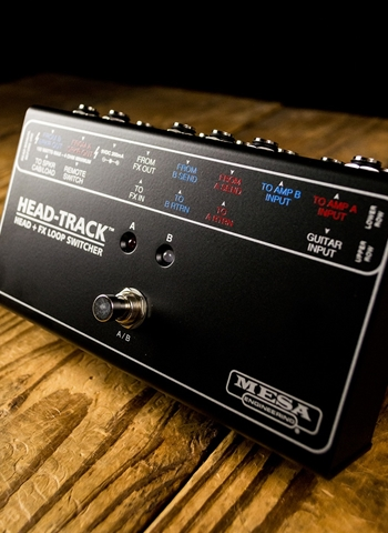 Mesa Boogie Head-Track Guitar Head and FX Loop Switcher