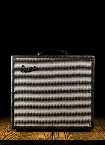 "Supro 1696RT Black Magick Reverb - 25 Watt 1x12"" Guitar Combo - Black Rhino"