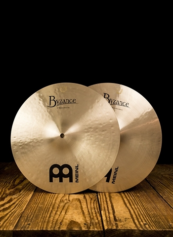 "Meinl B14MH - 14"" Byzance Traditional Medium Hi-Hats"