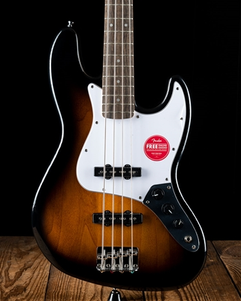Squier Affinity Series Jazz Bass - Brown Sunburst