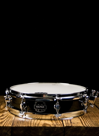 "NEW Mapex MPX Piccolo Poplar 14/"" x 3.5/"" Snare Drum Black MPBW4350CDK"