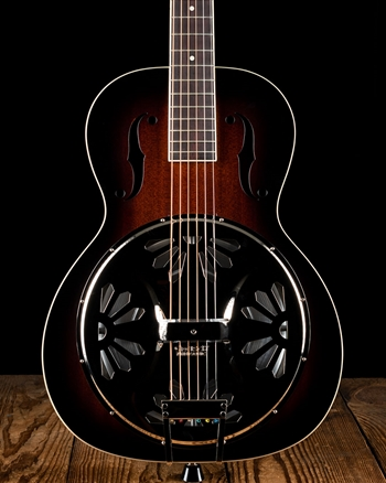 Gretsch G9220 Bobtail Round-Neck Resonator - 2-Color Sunburst