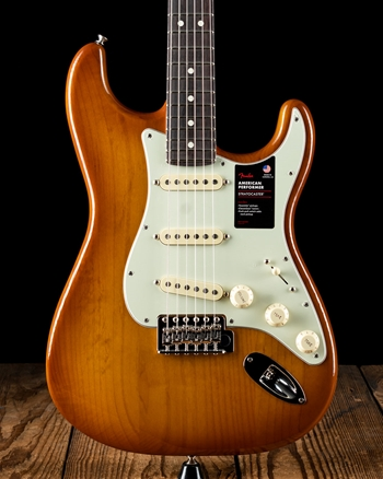 Fender American Performer Stratocaster - Honey Burst