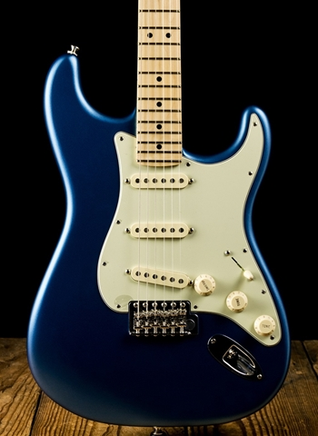 Fender American Performer Stratocaster - Satin Lake Placid Blue