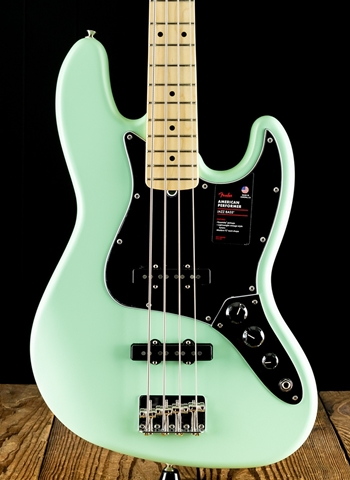 Fender American Performer Jazz Bass - Satin Surf Green