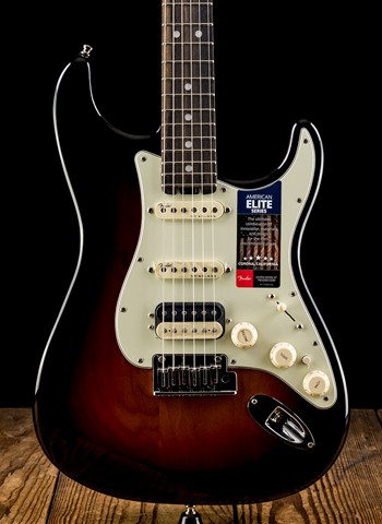 Fender American Elite Stratocaster HSS Shawbucker - 3-Color Sunburst