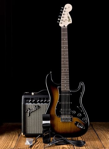Squier Affinity Series Strat Pack HSS - Brown Sunburst