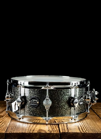 "Drum Workshop DRPF5514SSPS - 5.5""x14"" Performance Series Snare Drum - Pewter Sparkle"