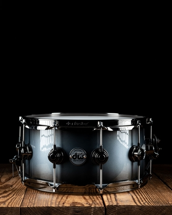 "Drum Workshop 6.5""x14"" Collector's Series Snare Drum - Regal/Candy Black Burst"