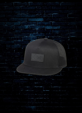DW Trucker Hat with Leather Patch