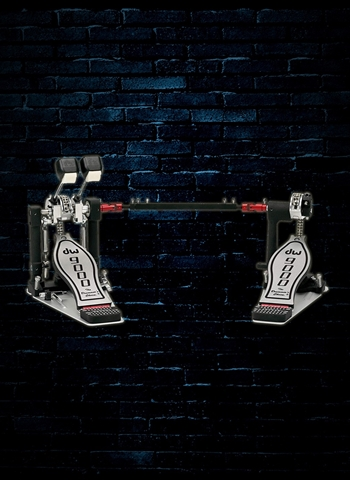 DW DWCP9002 - 9000 Series Double Bass Drum Pedal (Lefty)