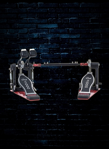 DW DWCP5002TDL3 Delta II Turbo Double Bass Drum Pedal (Lefty)