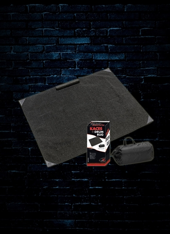 Kaces KCP-5 Crash Pad Drum Rug w/Carry Bag