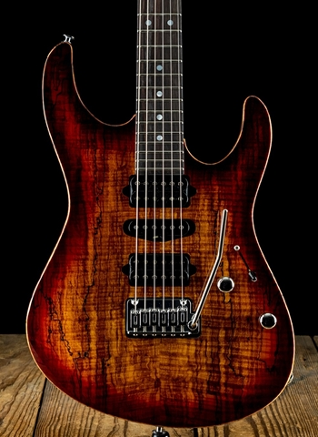 Suhr Modern Custom Spalt Maple/Korina - Aged Cherry Burst