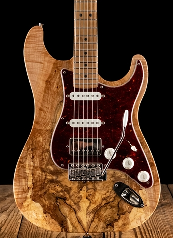 LsL Saticoy DX Spalted Maple/Swamp Ash - Tobacco Burst
