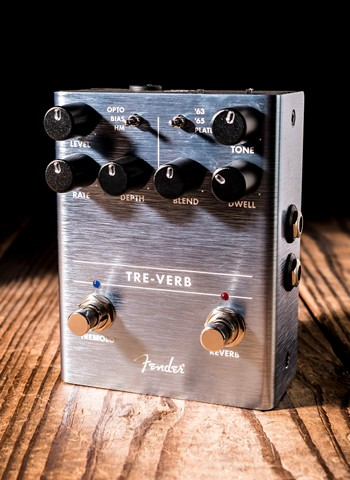 Fender Tre-Verb Digital Tremolo/Reverb Pedal