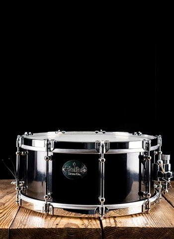"Pfeifer 6""x14"" September Maple Snare - Black"