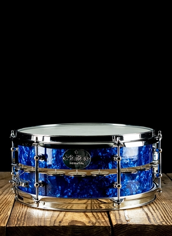 "Pfeifer 5.5""x12"" Generation FX Maple Snare - Blue Pearl"