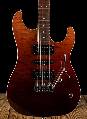 LsL XT3-DX Quilted Maple/Mahogany - Rootbeer Gradient