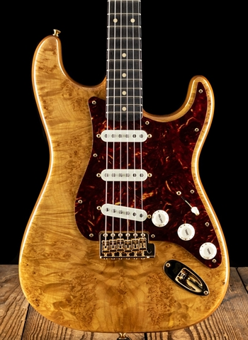 Fender Artisan Maple Burl Stratocaster - Natural