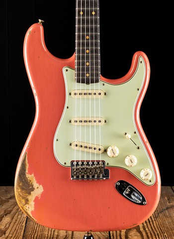 Fender Custom Shop 1959 Heavy Relic Stratocaster - Faded Aged Tahitian Coral