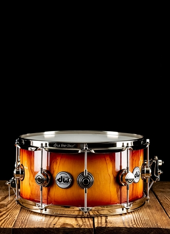 "Drum Workshop 6.5""x14"" Collector's Series Pure Almond Snare Drum - Natural"