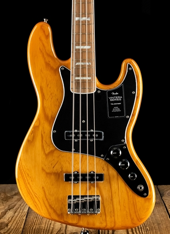 Fender Vintera '70s Jazz Bass - Aged Natural