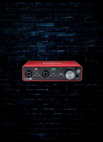 Focusrite Scarlett 2i2 - 2x2 USB Audio Interface (3rd Gen)